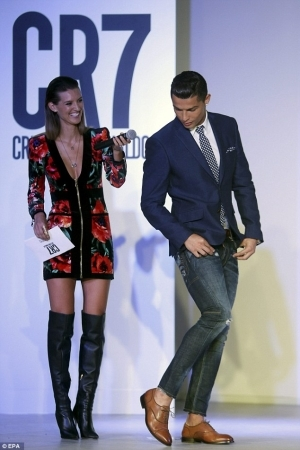 Photos: Cristiano Ronaldo Launches CR7 Footwear As He Continues To Expand His Brand